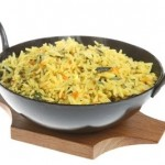 Authentic Indian Pilau Rice Dish