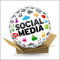 social media packages icon
